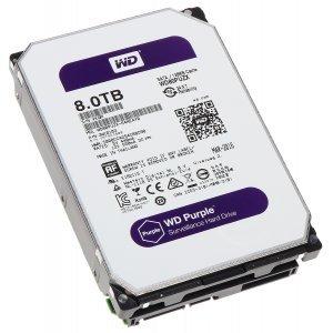 Daxil HDD WD Purple  3.5'' 8TB 7200 prm (WD80PURX)