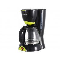 Капельная кофеварка Polaris PCM 1211 (Черный / салатовый)