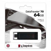 USB флешка Kingston 64 GB USB-C DataTraveler 70 (DT70/64GB)