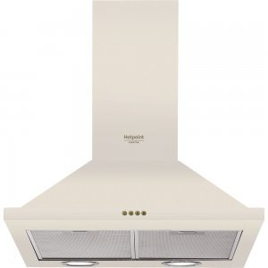 Вытяжка Hotpoint-Ariston HHPN 6.5F LM OW/HA (Beige)