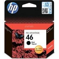 Струйный картридж HP № 46 CZ637AE (Black)