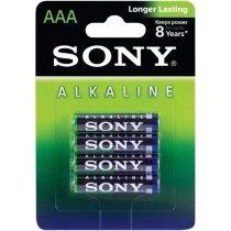 Batareyalar Sony alkaline batteries AAA(2) AM4L-B2D-bakida-almaq-qiymet-baku-kupit