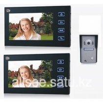 """Видео домофон с 2-я цветными LCD-мониторами 7"""" RL-2TV10MA-bakida-almaq-qiymet-baku-kupit"""