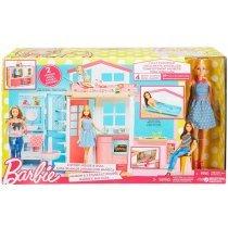 Игра MATTEL Портативный домик Barbie с куклой (DVV48)-bakida-almaq-qiymet-baku-kupit