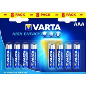 Батарейки VARTA HIGH ENERGY 4903 AAA (8)
