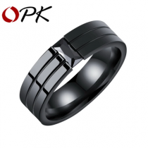 OPK Кольцо из нержавеющей стали (Размер 7)-bakida-almaq-qiymet-baku-kupit