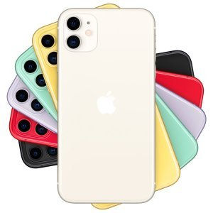Смартфон Apple Iphone 11 / 64 GB / 1 SIM (Red, White. Green, Purple, Yellow)