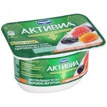 Кисломолочная Активиа Danone творожная чернослив-курага-инжир 4,2% 130Г-bakida-almaq-qiymet-baku-kupit