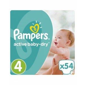 Подгузники Pampers Active Baby-Dry Junior 11-16кг, 54шт
