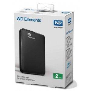 Внешний жёсткий диск WD Elements USB 3,0 2Tb (WDBU6Y0020BBK)