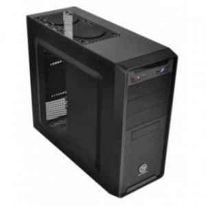 Компьютерный корпус Thermaltake Versa II/Black/No Win/SGCC/USB3.0*1 black interior (VO700A1N3N)