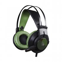 Наушники A4Tech 7,1 Glare Gaming J437 (Army Green)-bakida-almaq-qiymet-baku-kupit