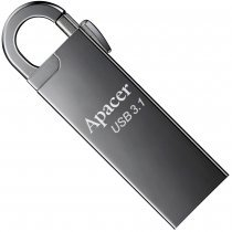 Flesh yaddaş USB Apacer 16 GB USB 3.1 Gen1 AH15A / Ashy (AP16GAH15AA-1)