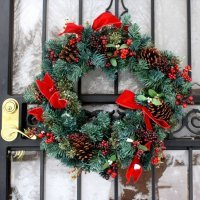 Yolka Royal Christmas DURHAM WREATH (0.75 metr)