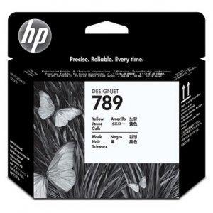 Cərəyan kartric HP № 789 CH612A (Желтый / черный)