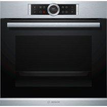 Электрический духовой шкаф Bosch HBG675BS1 (Silver)-bakida-almaq-qiymet-baku-kupit
