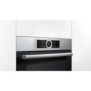 Электрический духовой шкаф Bosch HBG675BS1 (Silver)