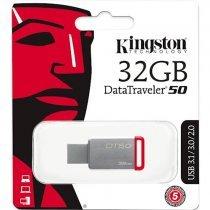 Флеш память USB Kingston 32GB USB 3.0 DataTraveler 50 (DT50/32GB-N)-bakida-almaq-qiymet-baku-kupit