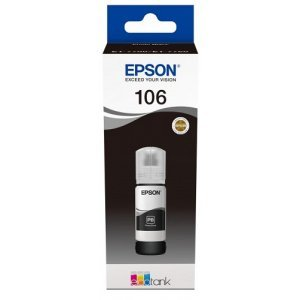 Чернила Epson 106 EcoTank Photo BK Ink Bottle / Blue (C13T00R140)