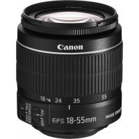 Фотообъектив CANON EF-S 18-55 MM F3.5-5.6 IS (18-55 MM F3.5-5.6 IS II)