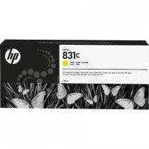Cərəyan kartric HP № 831C CZ697A (Желтый)-bakida-almaq-qiymet-baku-kupit