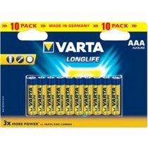 Батарейки VARTA LONGLIFE EXTRA 4103 AAA (10)