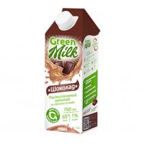 Yulaf südü & quot; Şokolad & quot; Yaşıl süd 750 ml-bakida-almaq-qiymet-baku-kupit