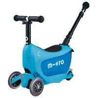 Самокат Micro Mini2go Blue Deluxe Plus (MMD034)