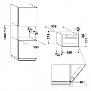 Mikrodalğalı soba Hotpoint-Ariston MD 764 DS HA (Beige)