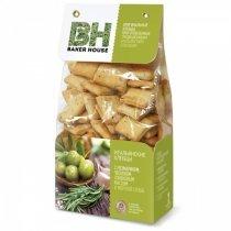 Baker House хлебцы итальянские с розмарином, чесноком, оливковым маслом и морской солью, 250 г-bakida-almaq-qiymet-baku-kupit
