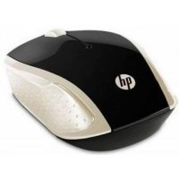 Беспроводная мышь HP Wireless Mouse 200  / Silk Gold (2HU83AA)