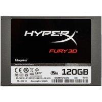 Внутренний SSD Kingston HyperX Fury 3D 120 GB (KC-S44120-6F)