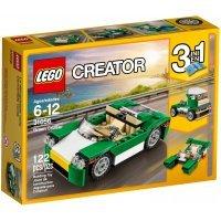 КОНСТРУКТОР LEGO LEGO Creator Зелёный кабриолет (31056)