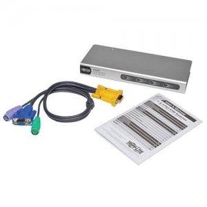 Свитч Tripp Lite Desktop Slim KVM Switch - 4 Port (B022-004-R)