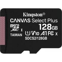 Карта памяти Kingston 128G micSD Select Pls 100R (SDCS2/128GB)