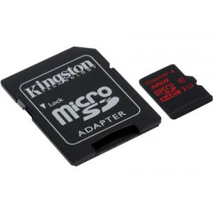 Карта памяти Kingston 32GB microSDHC UHS-I speed class 3 (U3) 90R/80W (SDCA3/32GB)