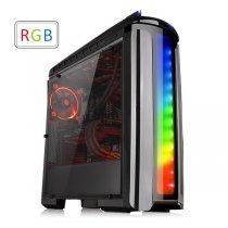 Компьютерный корпус Thermaltake Versa C22 RGB/Black/Win/SPCC/Full Window (CA-1G9-00M1WN-00)-bakida-almaq-qiymet-baku-kupit