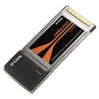 Беспроводной CardBus PCMCI-адаптер D-Link DWA-610/EU Wireless  до 54Мбит/с (DWA-610/EU)
