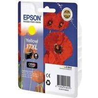 Картридж EPSON CARTRIDGE I/C (y) XP33/203/303 HAV3-P (Claria Home 17XL) (C13T17144A10)