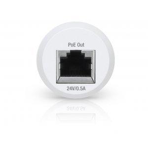 Адаптер Ubiquiti Instant 802.3AF Indoor 48V POE Gigabit (INS-3AF-I-G)