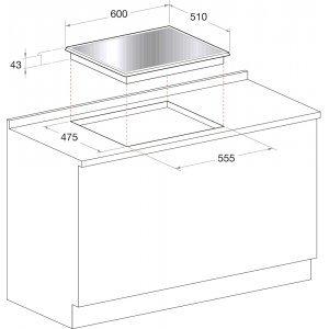 Варочная панель Hotpoint-Ariston TQG 641 /HA (BK) EE (Чёрный)