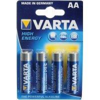 Батарейки Varta High Energy AA LR6