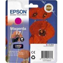 Картридж Epson I/C (m) XP33/203/303 HAV3-P (Claria Home 17) Magenta (C13T17034A10)-bakida-almaq-qiymet-baku-kupit