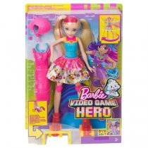 Oyuncaq MATTEL Barbie ™ Video Game Hero - Skating Doll  (DTW17)-bakida-almaq-qiymet-baku-kupit