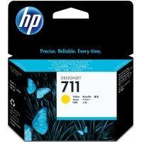 Струйный картридж HP № 711 CZ132A (Желтый)