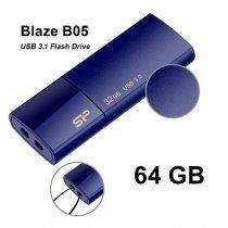 USB флешка Silicon Power UFD 3.0, Blaze B05, 64GB, Deep (SP064GBUF3B05V1D)-bakida-almaq-qiymet-baku-kupit