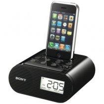 Sony ICF-C05iP FM Радио часы будильник док-станция для IPod / iPhone 4/4S-bakida-almaq-qiymet-baku-kupit