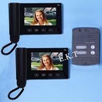 Видео домофон с двумя дисплеями RL-2A09G-bakida-almaq-qiymet-baku-kupit