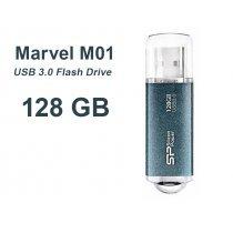 USB флешка Silicon Power UFD 3.0, Marvel M01, 128GB, Blue (SP128GBUF3M01V1B)-bakida-almaq-qiymet-baku-kupit