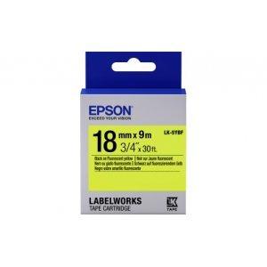 Лента для принтера Epson Tape - LK5YBF Fluor Blk/Yell (C53S655004)